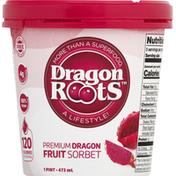 Acai Roots Sorbet, Premium, Dragon Fruit