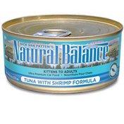 Natural Balance Tuna With Shrimp Formula Ultra Premium Cat Food