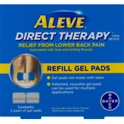 Aleve Direct Therapy Relief From Lower Back Pain Refill Gel Pads