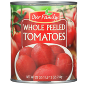 Our Family Whole Peeled Tomatoes