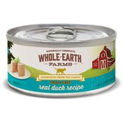 Whole Earth Farms Grain Free Real Duck Recipe Natural Food For Cats