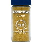 Morton & Bassett Spices Curry, 100% Organic
