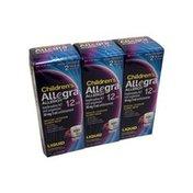 Allegra Children's Allergy, Ages 2 Years & Older