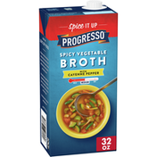 Progresso Gluten Free, Spicy Vegetable Broth