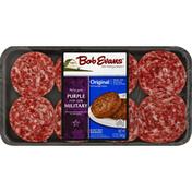 Bob Evans Farms Pork Sausage, Patties, Original