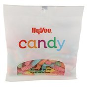 Hy-Vee Sour Worms Candy
