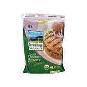 Coastal Range Organics Organic Chicken Burgers
