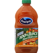 Ocean Spray 100% Juice, Fruit & Veggie, Tropical Citrus