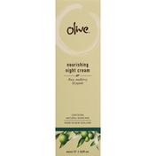 Olive Night Cream, Nourishing, Rose, Mulberry & Jujube
