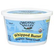 Organic Valley Butter, Whipped, Organic Sweet Cream, Salted