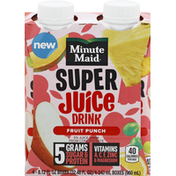 Minute Maid Super Juice Drink, Fruit Punch