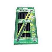 Ticonderoga Noir Pencil, No. 2 HB, Black