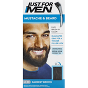 Just For Men Mustache & Beard, Darkest Brown M-50