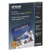 Epson Presentation Paper, Premium, Matte