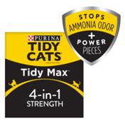 Purina Tidy Cats Clumping Cat Litter, Tidy Max Strength Multi Cat Litter