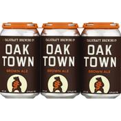 Calicraft Beer, Brown Ale, Oak Town