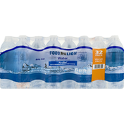 Food Lion Water, Purified, Value Pack, 32 Pack