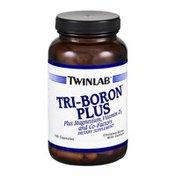 Twinlab Tri-Boron Plus Dietary Supplement Capsules - 120 CT