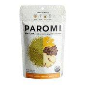 Paromi Tea Paromi Organic Matcha with Turmeric, Ginger, & Cinnamon, Caffeinated
