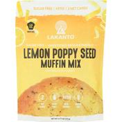 Lakanto Muffin Mix, Sugar Free, Lemon Poppy Seed