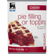 Food Lion Pie Filling or Topping, Cherry, Can