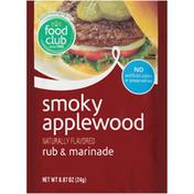 Food Club Smoky Applewood Rub & Marinade