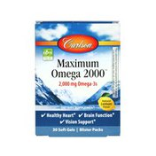 Carlson Labs Maximum Omega 2000� Travel Pack