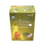 Yejimiin Herbal Organic Cotton Hot Fomentation Steam Pads Sanitary Napkins