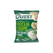 Quest Protein Chips Sour Cream & Onion Original Style