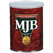 Mjb Naturally Decaffeinated Coffee
