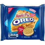 Oreo Apple Pie Sandwich Cookies, Limited Edition, 1 Resealable Pack