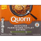 Quorn Parmigiana Cutlet Entree, Meatless