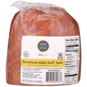 Open Acres Hickory Smoked & Fully Cooked Boneless Mini Half Ham