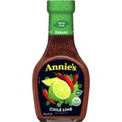 Annie's Chile Lime Vinaigrette Salad Dressing, Organic, Non-GMO