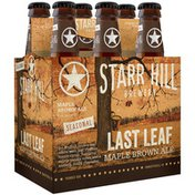 Starr Hill Brewery Maple Brown Ale
