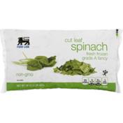 Food Lion Spinach, Cut Leaf, Fresh frozen, Grade A Fancy, Bag