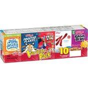 Kellogg's Breakfast Cereal Variety