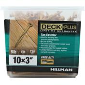 Hillman Group Screws, Tan Exterior