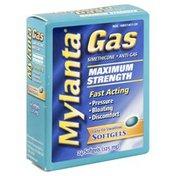 Mylanta Anti-Gas, 125 mg, Maximum Strength, Softgels