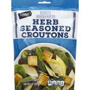Signature Kitchens Croutons, Herb Seasoned