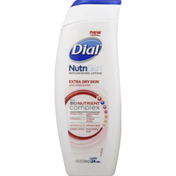 Dial Replenishing Lotion, Extra Dry Skin with Shea Butter