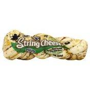 Karoun String Cheese, Hand-Braided, with Olive Oil, Garlic & Herbs, Part Skim Milk