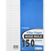 Top Flight Filler Paper, Wide Rule