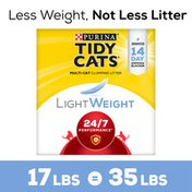 Purina Tidy Cats Lightweight Clumping Cat Litter, 24/7 Performance Multi Cat Litter