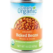 Clearly Organic Organic Baked Beans