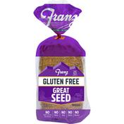 Franz Bread, Gluten Free, Great Seed