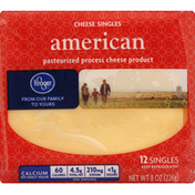 Kroger Cheese Product, Pasteurized Process, Singles, American
