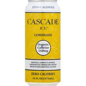 Cascade Ice Sparkling Water, Lemonade, Caffeinated