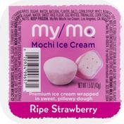 My/Mo Mochi Ice Cream, Ripe Strawberry
