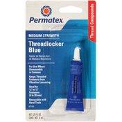 Permatex® Item # 75185 - Medium Strength Blue Carded Permatex Medium Strength Threadlocker Blue
